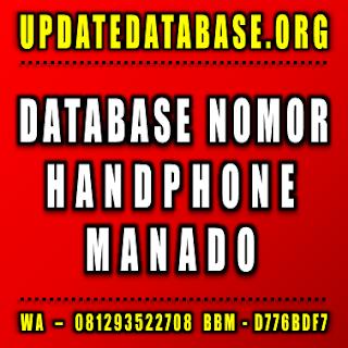 Jual Database Nomor Handphone Manado