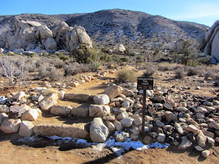 View south from Ryan Mountain trailhead, Joshua Tree National Park