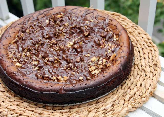 Nutella peanut butter cheesecake