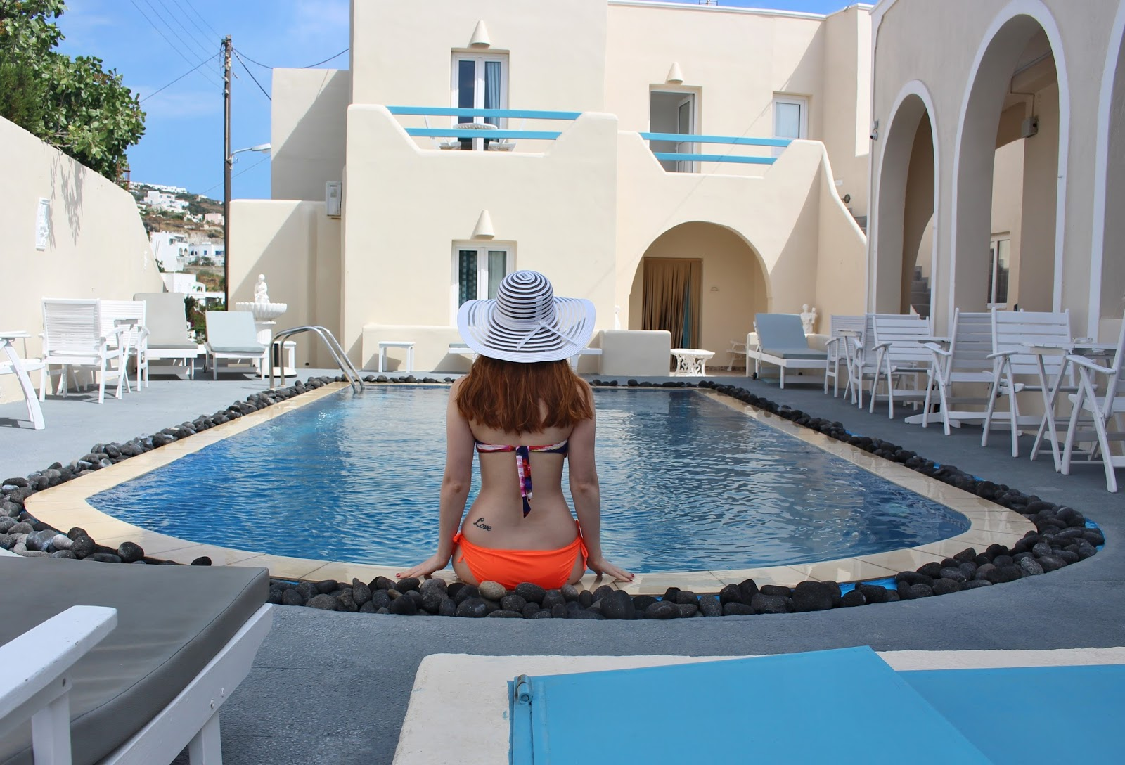 greece, lucie srbová, česká blogerka, blogerka, santorini, rena´s suites