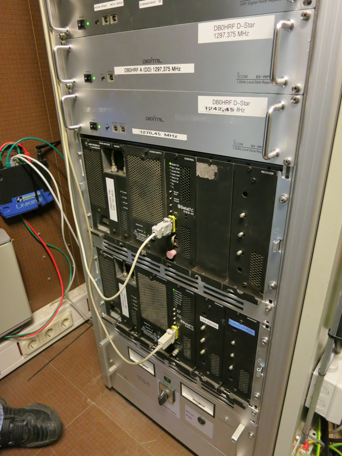 Amateur Radio Repeater database - Updated daily