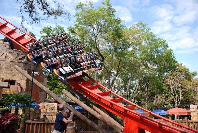 Pontos turísticos de Tampa: parque Busch Gardens