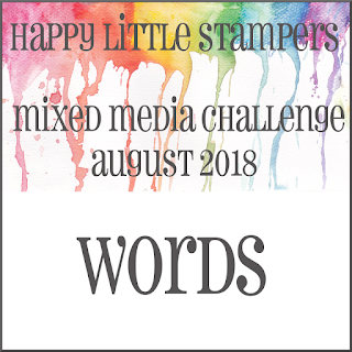 HLS August Mixed Media Challenge