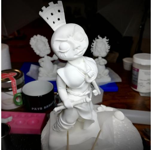 Cupcakes « Cybèle, Atalante et Hippomène » ; étape #3