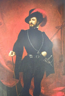Mario in the role of Don Giovanni in Mozart's opera of the same name