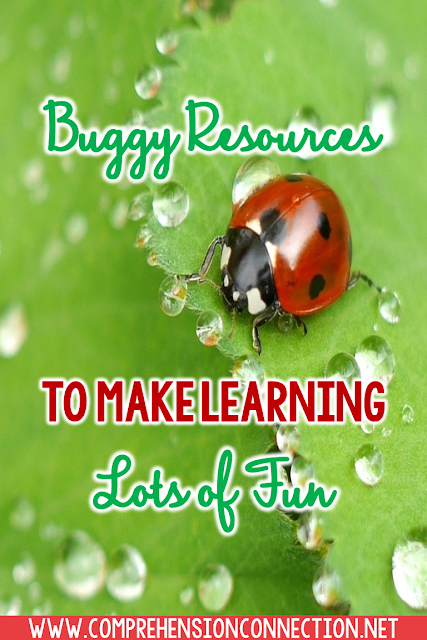 Kids just love bugs. They love catching lightning bugs, exploring spider webs (from a distance), and investigating things like body parts, what they eat, etc.Check out this post for buggy ideas and FREEBIES.