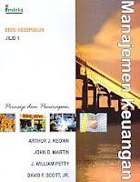 MANAJEMEN KEUANAGAN : PRINSIP DAN PENERAPAN edisi kesepuluh Jilid 1