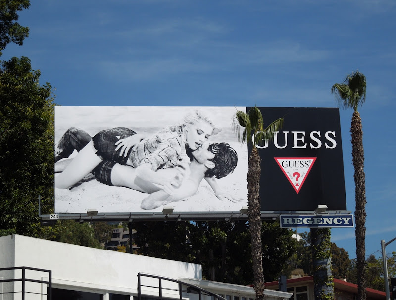 Guess 2012 beach billboard