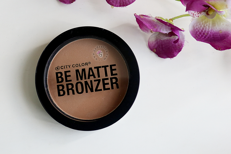 CITY COLOR BE MATTE BRONZER - CARAMEL DRIZZLE
