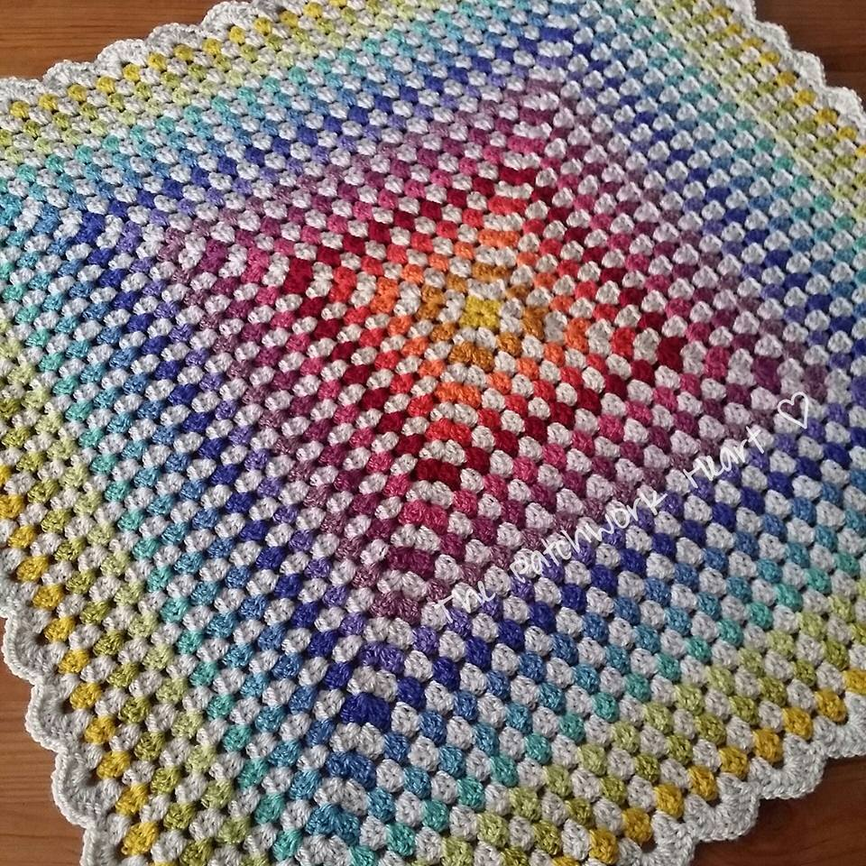 The Patchwork Heart Baby Blankets