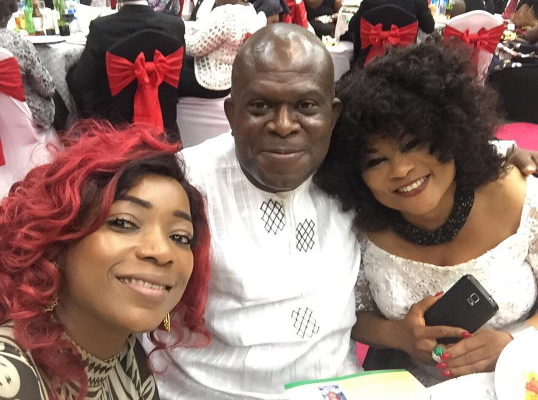 nollywood stars fundraising dinner