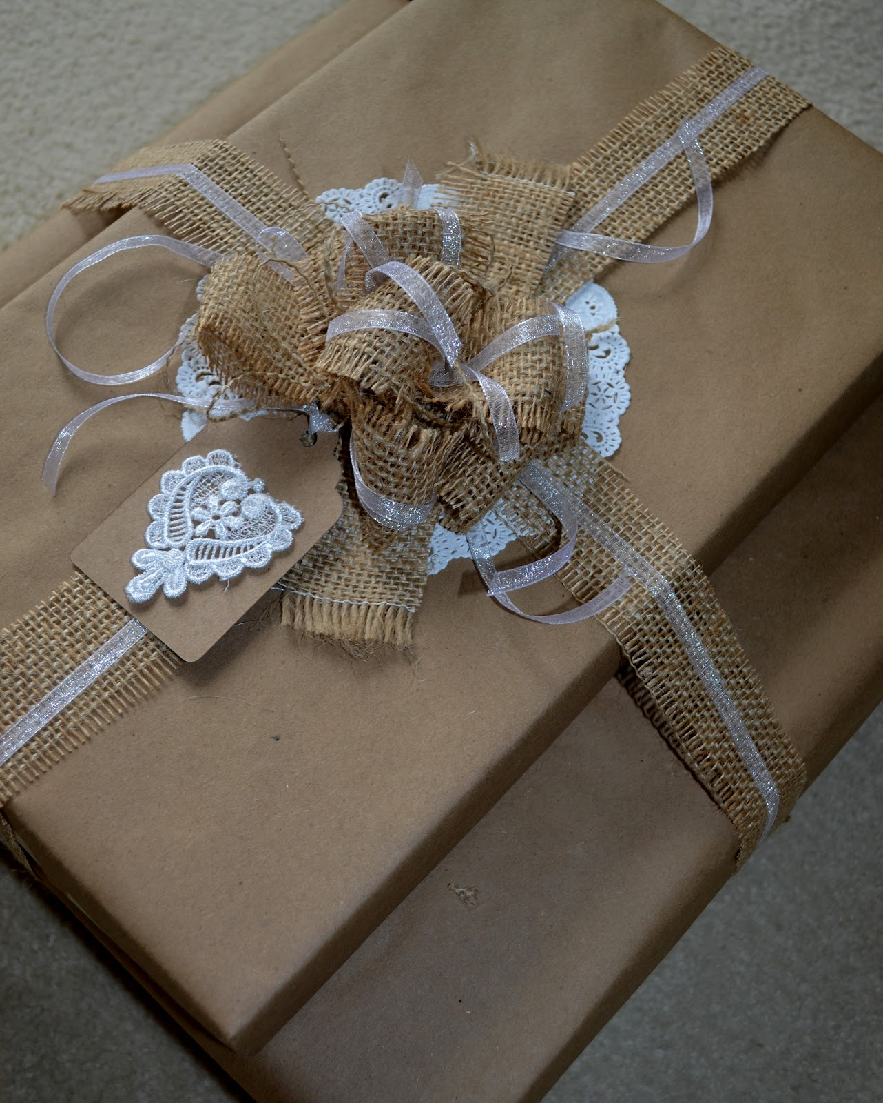 Corner Of Plaid And Paisley: Gift Wrapping Posts