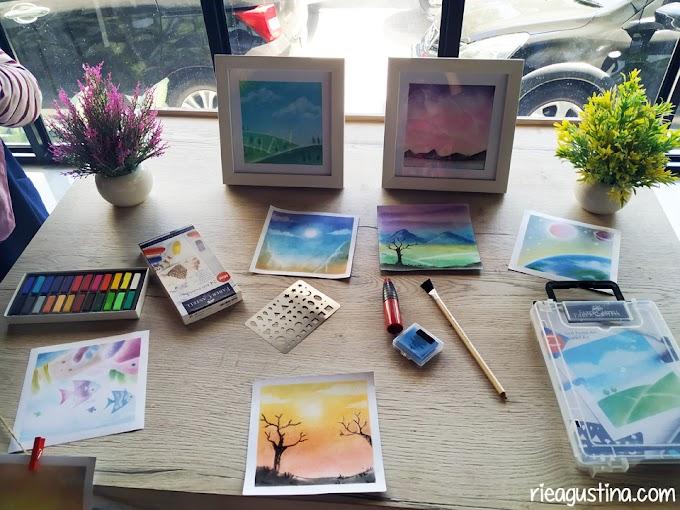Soft Pastel Art Starter Kit Faber Castell, belajar Menggambar dengan mudah