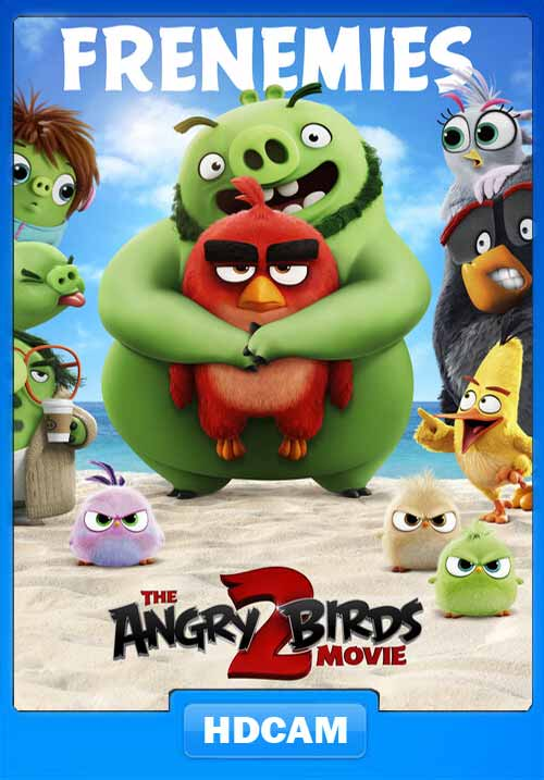 The Angry Birds Movie 2 2019 720p HDCAM Hind Eng x264 | 480p 300MB | 100MB HEVC Poster
