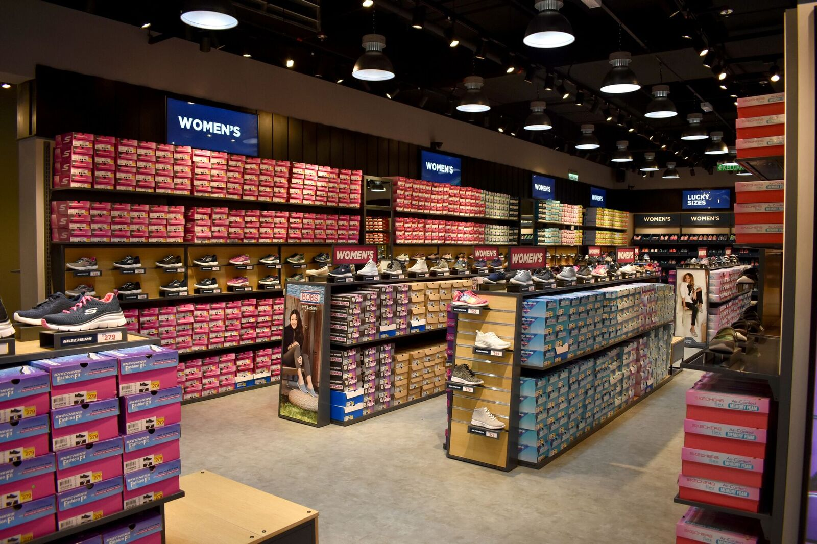 """cbce988796a0 """"We are thrilled to introduce this massive unique store space which was  purpose built to showcase the newest designs as well as a variety of  Skechers™ ..."""