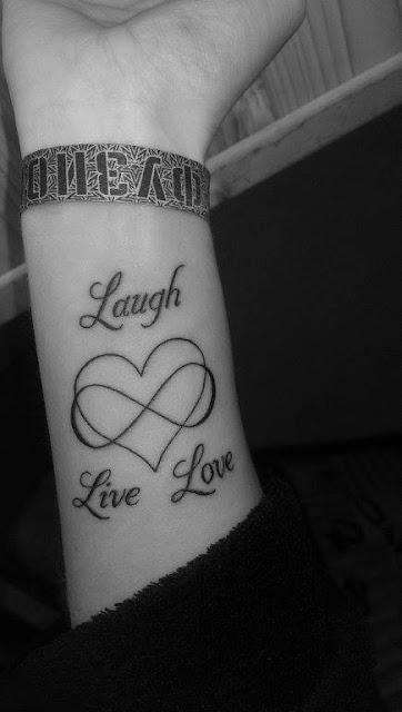 Couple Infinity Tattoo on Arm