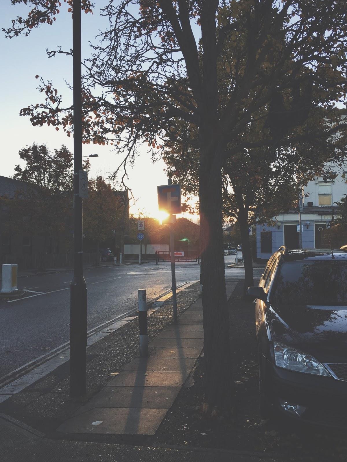 Morning Sunrise London