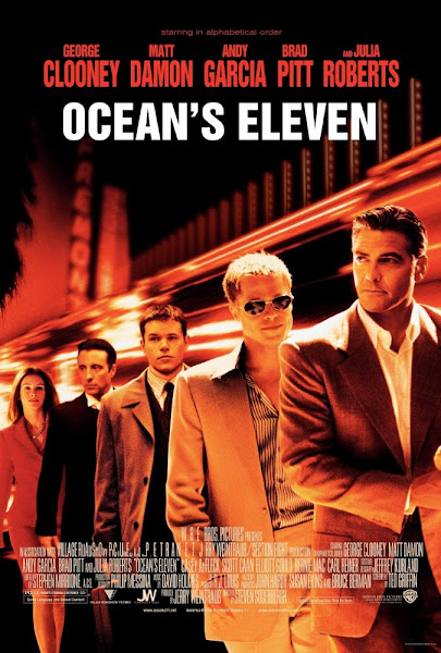 Ocean's Eleven 2001 720p Hindi BRRip Dual Audio Full Movie Download extramovies.in Ocean's Eleven 2001