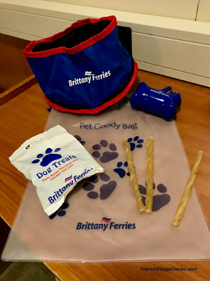 French Village Diaries Brittany Ferries Pet Friendly service Portsmouth La Harve Baie de Seine