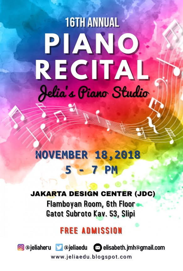 Piano Recital at JDC