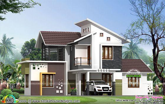 Simple model modern home