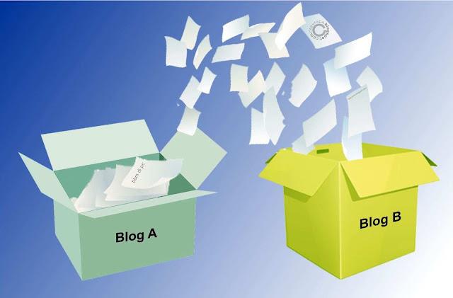 pindah blog untuk menyatukan kontennya