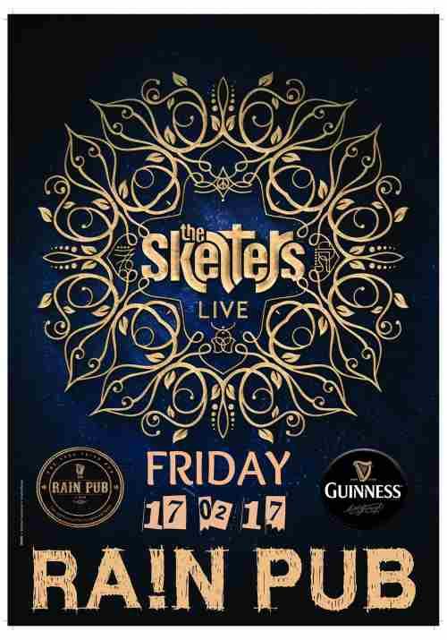 THE SKELTERS: Παρασκευή 17 Φεβρουαρίου στην Κατερίνη @ Irish Pub Rain