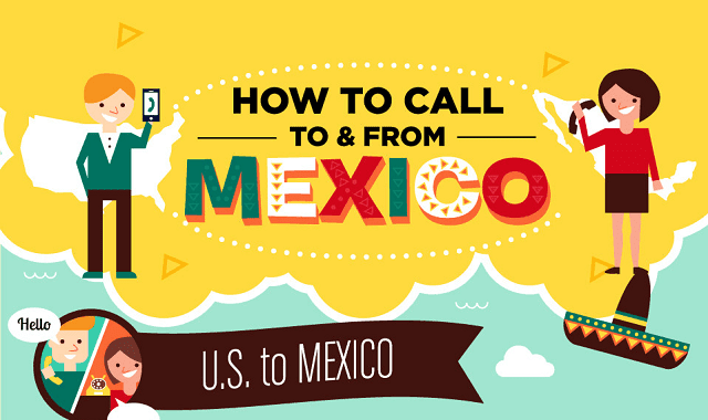 Image: How to Call To and From Mexico