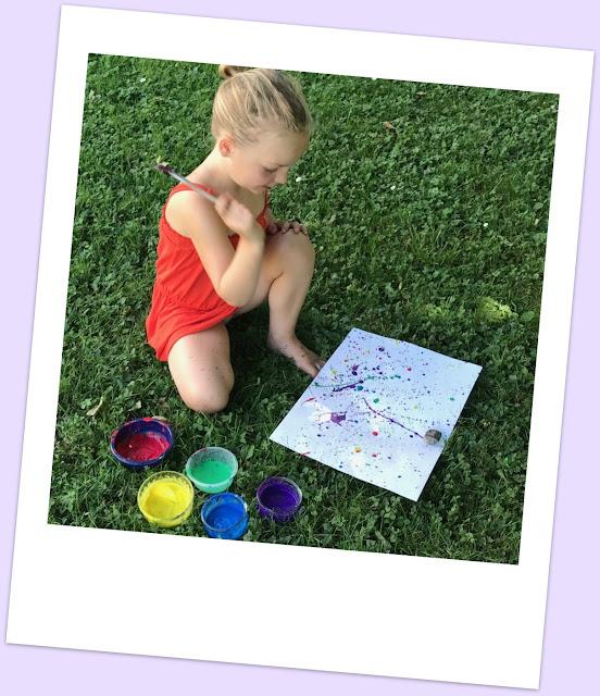 Jackson Pollock activité