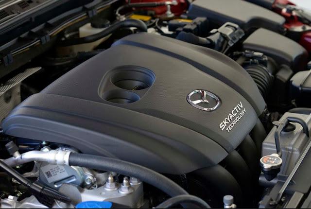 2017 Mazda 3 2.5L Manual Hatchback Engine