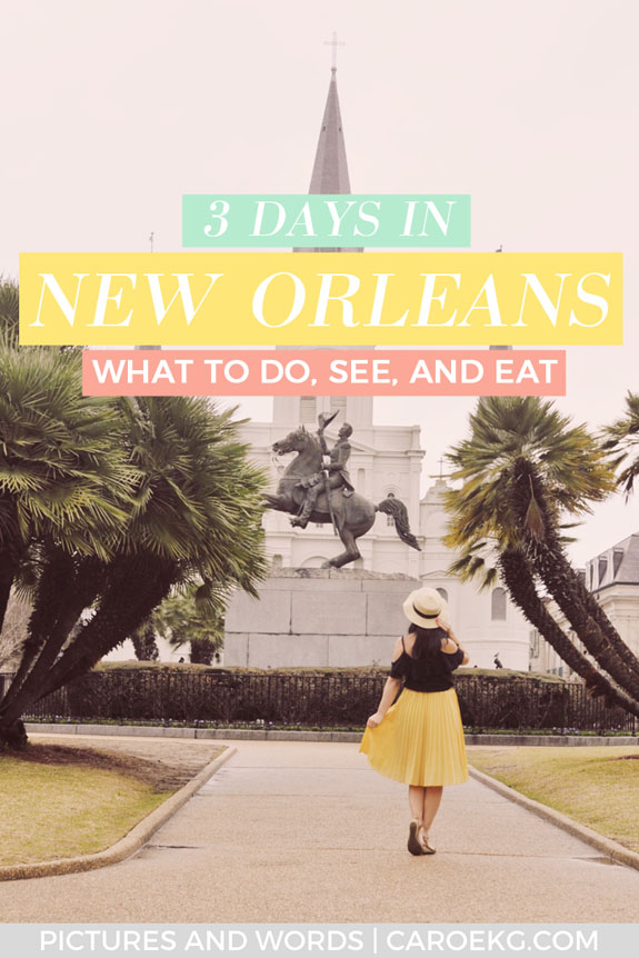 Planning to spend 3 days in New Orleans and want to know all the best things to do, see, and eat? This handy dandy New Orleans travel guide will show you all the highlights to help you plan the perfect trip! Filled with tips on the best things to do in New Orleans, the most delicious food to eat, where to stay, and more. Don't plan your New Orleans itinerary without reading this guide first! #neworleans #louisiana #usatravel #nola #neworleansguide #nolaguide