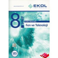 Ekol Yayıncılık 8. Sınıf Fen ve Teknoloji Konu Anlatımlı