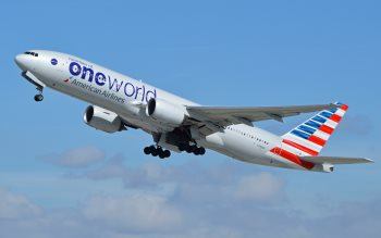 Wallpaper: Passenger & Cargo Aircraft take-off from LAX