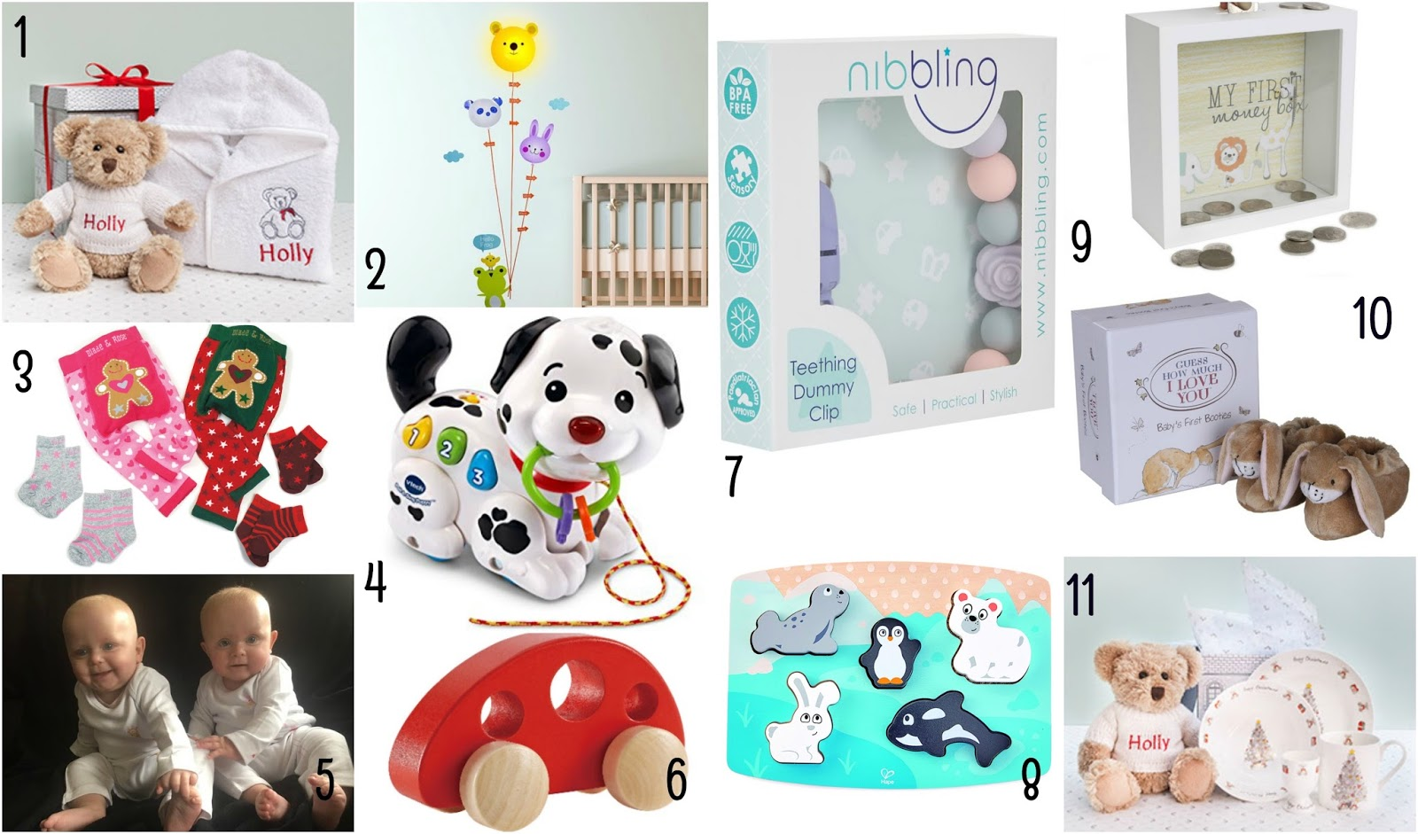 Gift Guide - For Children Under One | My Crazy Family Story