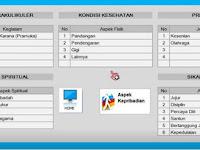 Aplikasi Cetak Nilai Raport SD-MI Kelas 4 K13 Revisi 2017