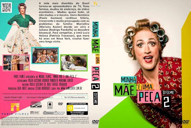 Capa DVD Minha Mãe É Uma Peça 2 [Exclusiva]