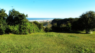 Praia de Morro dos Conventos Vista do Morro dos Conventos, em Araranguá