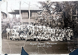 Reyes Family Reunion, 1956 - Lipa, Batangas, Philppines