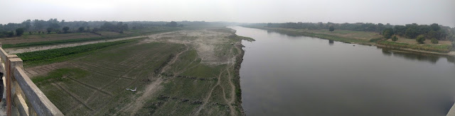 Yamuna River At Etawah (Uttar Pradesh)