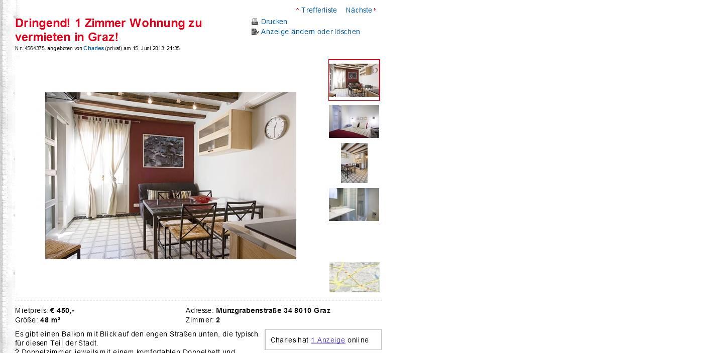 wohnungsbetrugblogspotcom Dringend 1 Zimmer Wohnung zu