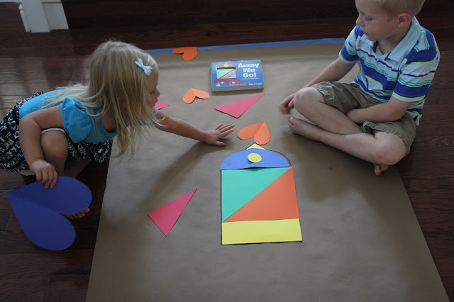 math activities for kids, shape puzzles