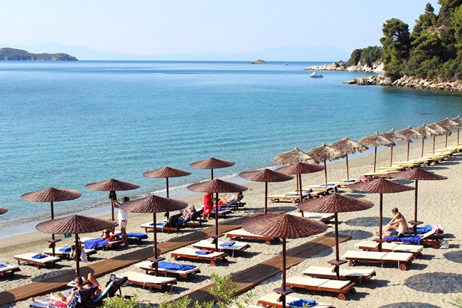 Skiathos island hotel beaches