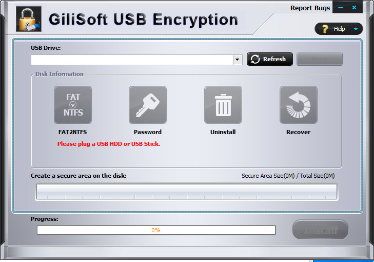 GiliSoft USB Stick Encryption v6.2.0 Full version for free