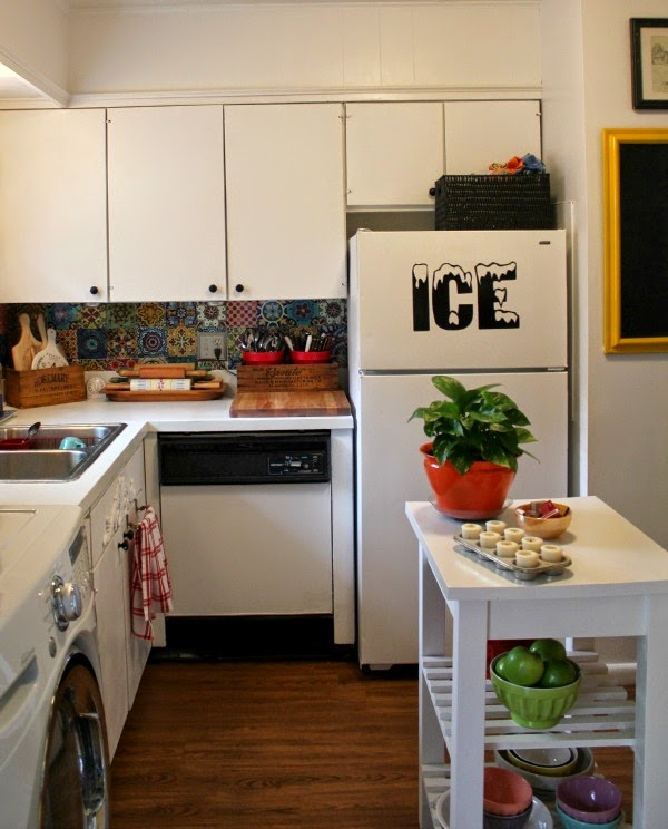 Kitchen For Rent: My Boho Rental Kitchen · Cozy Little House