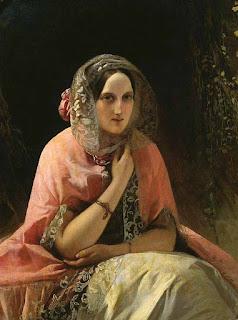 Нефф Тимофей Андреевич Carl Timoleon von Neff «Портрет великой княгини Марии Николаевны»