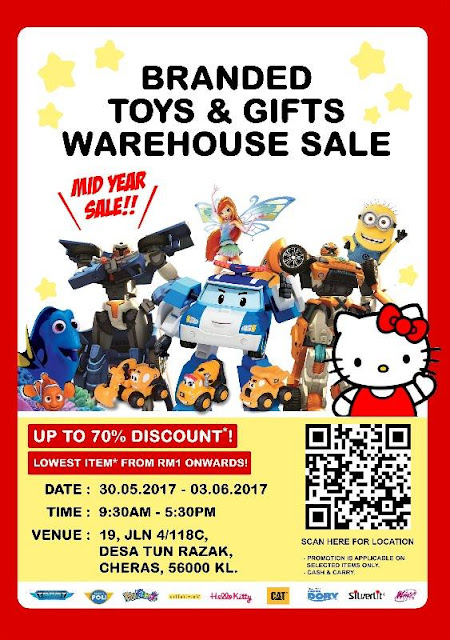 Branded Toys & Gifts Warehouse Sale