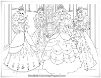 Download Barbie And The Three Musketeers Coloring Pages For Girls Printable