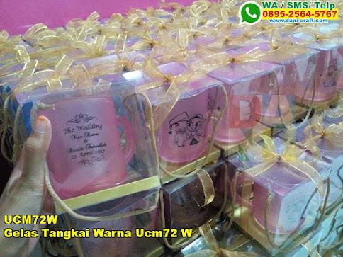 Toko Gelas Tangkai Warna Ucm72 W