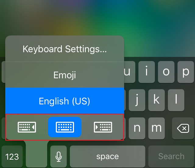 It is harder to use a phone using one hand only. But Apple has added a great feature on iOS 11 that allows you to type on keyboard using only one hand.