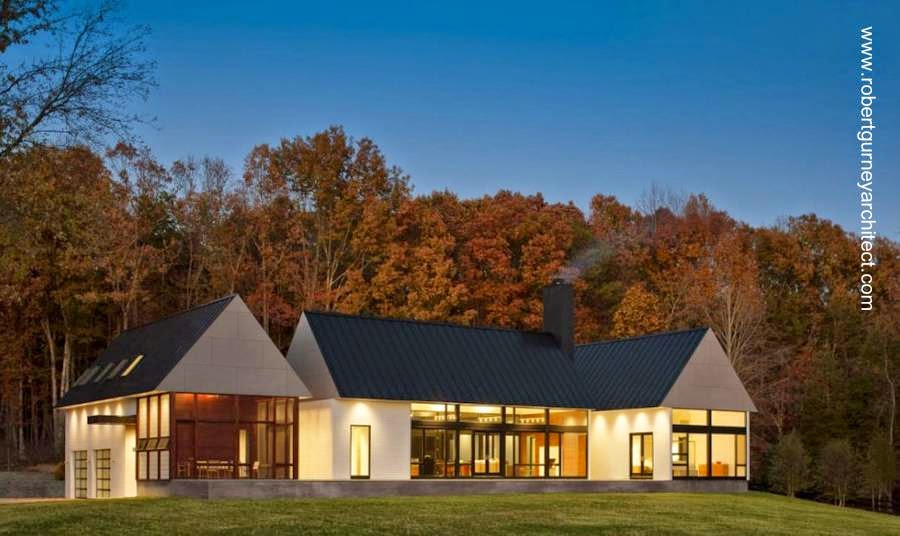Casa de campo contemporánea en Estados Unidos 2011